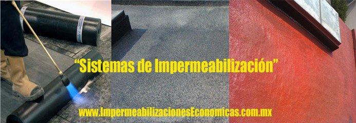 Impermeabilizaci n de techos losas y superficies venta - Tipos de impermeabilizacion ...